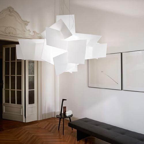 foscarini big bang suspension lamp 3 quasi modo modern. Black Bedroom Furniture Sets. Home Design Ideas
