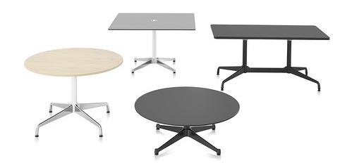 Herman Miller Eames® Tables Segmented Base Rectangular 1