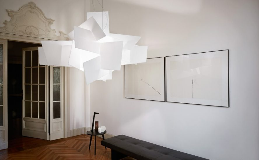 foscarini suspension lamp big bang quasi modo modern furniture toronto. Black Bedroom Furniture Sets. Home Design Ideas