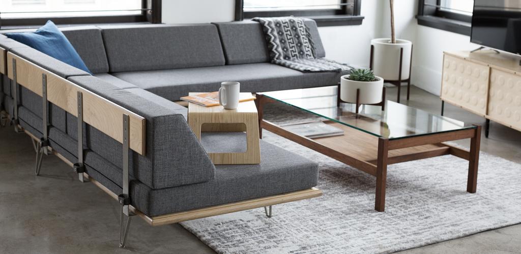 Modernica Sofa Daybed Vleg Quasi Modo Modern Furniture