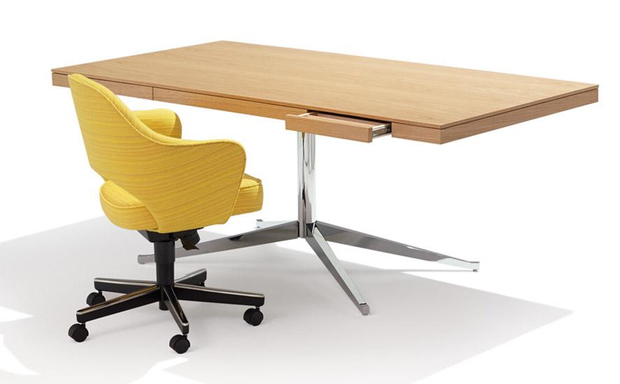 Knoll Table Desk Florence Executive Quasi Modo Modern