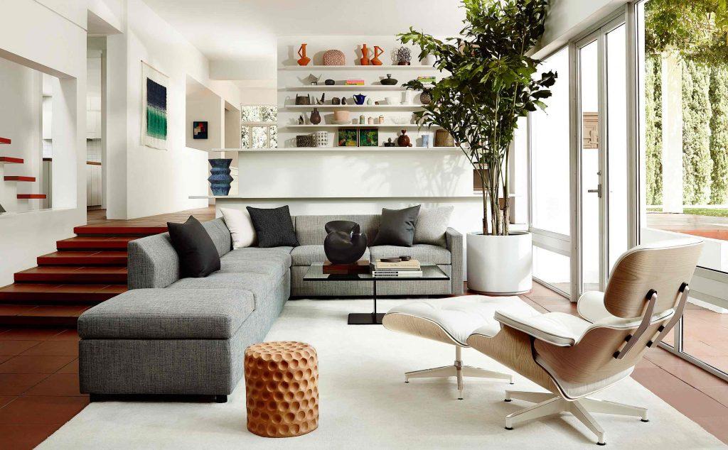 5832d126a81 Herman Miller Chair Lounge Eames Lounge - Quasi Modo Modern ...