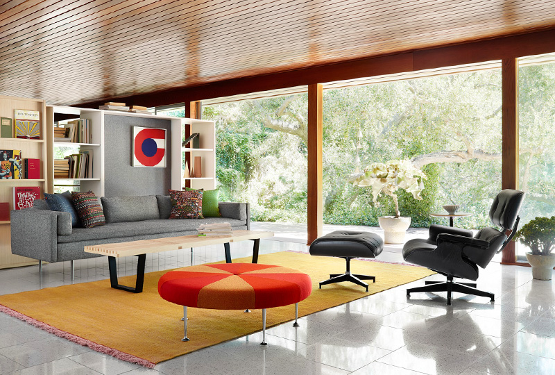 eames seating chairs lounge vitra model chair and ottoman