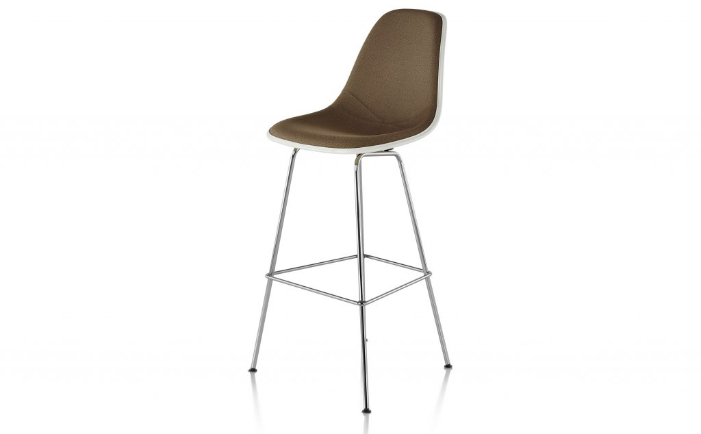 Herman Miller Chair Stool Eames Molded Plastic Quasi