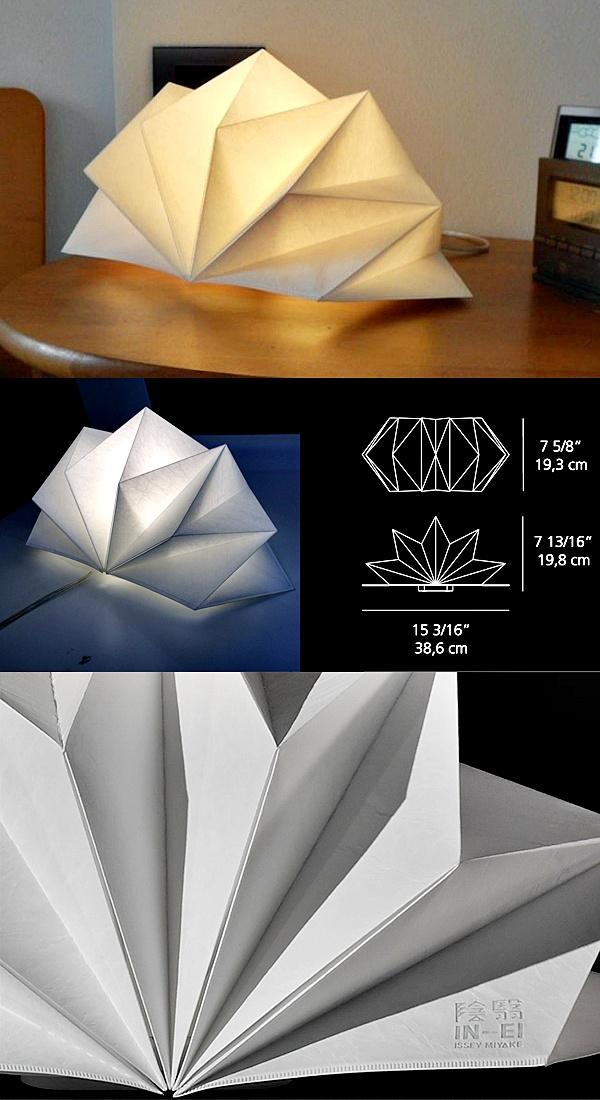 Lighting table lamp artemide hoshigame quasi modo modern for Artemide issey miyake