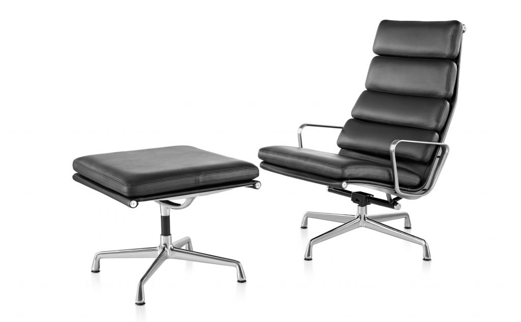 Herman Miller Chair Lounge Eames Soft Pad Quasi Modo