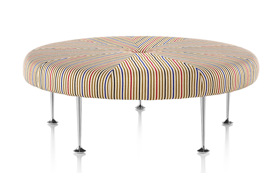 Herman Miller Sofa Ottoman Color Wheel