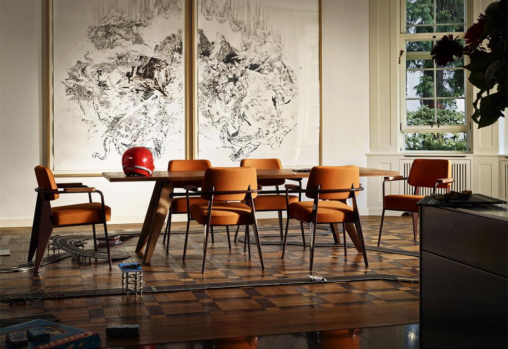 Modern Design Fauteuil.Vitra Chair Dining Fauteuil Direction Quasi Modo Modern Home Inc