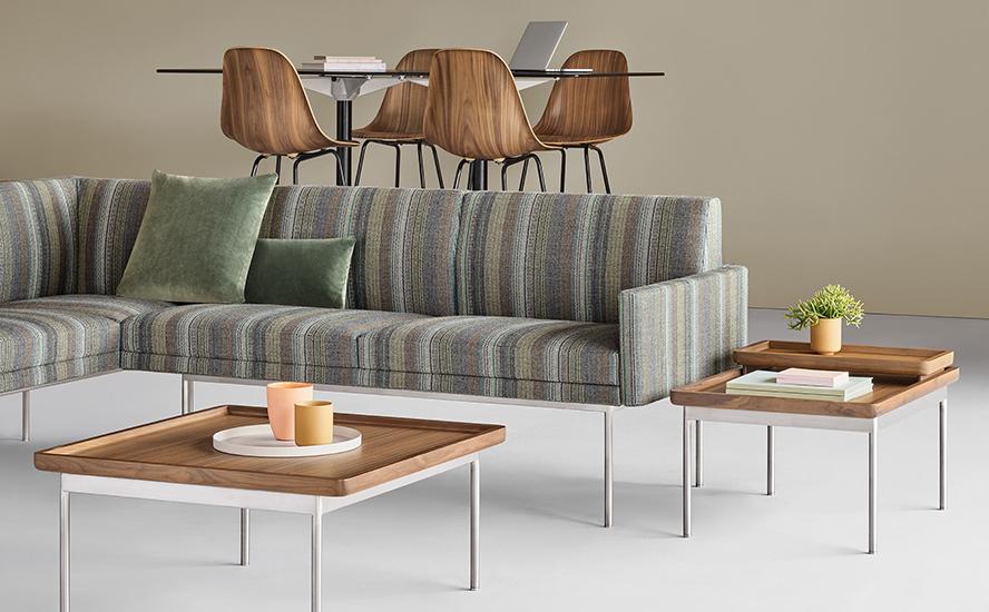 Herman Miller Sofa Tuxedo Quasi Modo Modern Furniture